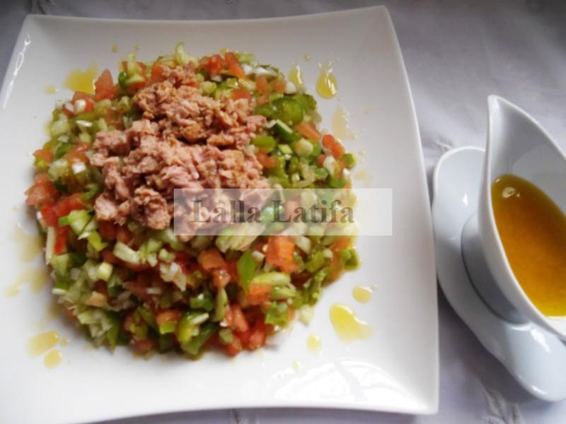 Les secrets de cuisine par lalla latifa la salade marocaine for Secrets de cuisine