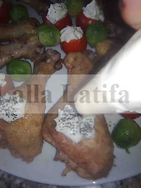 Les secrets de cuisine par lalla latifa pilons de poulet for Secrets de cuisine
