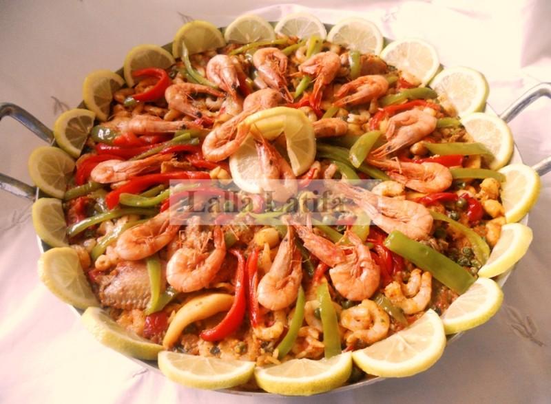 Les secrets de cuisine par lalla latifa la paella for Secrets de cuisine