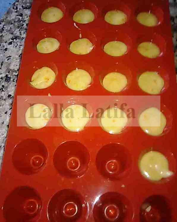 Recette de petit gateau avec moule en silicone