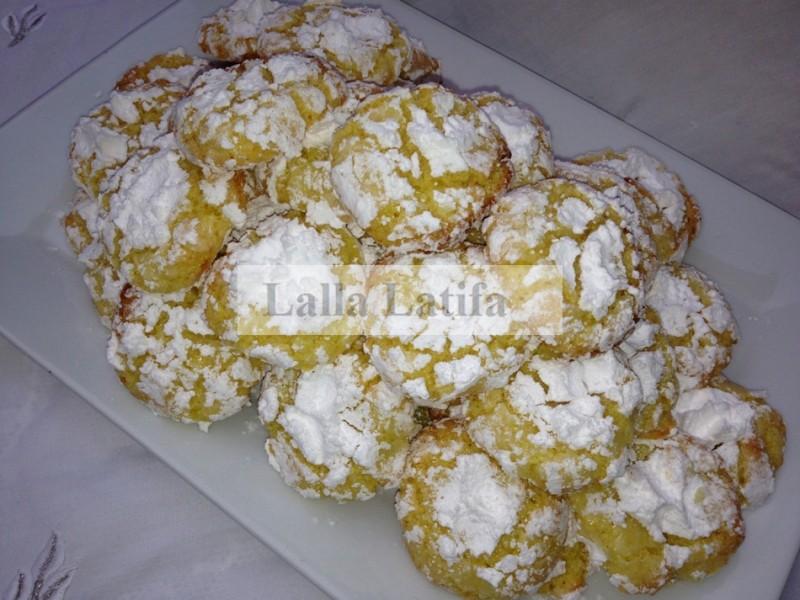 Les Secrets De Cuisine Par Lalla Latifa Ghriba A La Noix De Coco