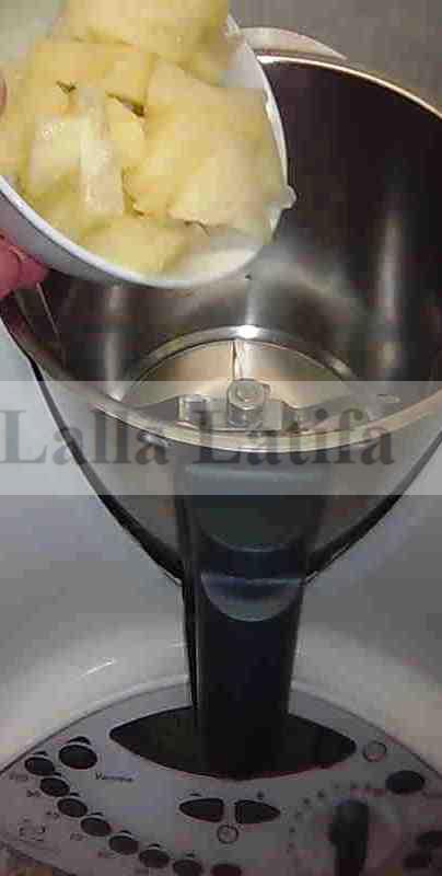 Les secrets de cuisine par lalla latifa glace - Congeler de la creme fraiche ...