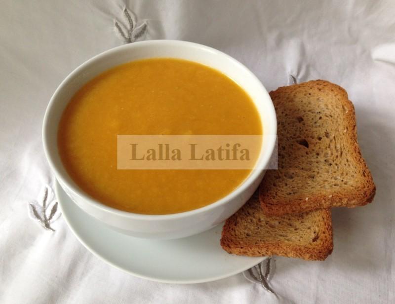 Les Secrets De Cuisine Par Lalla Latifa Soupe Aux Legumes Au Thermomix