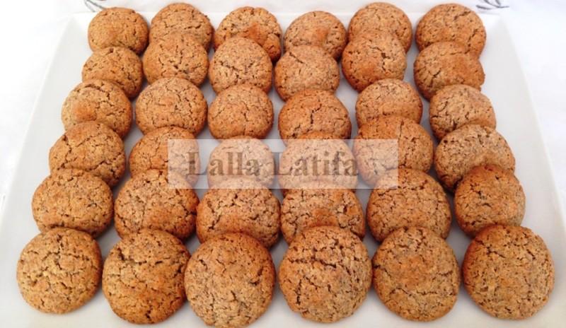 Les secrets de cuisine par lalla latifa ghriba aux noix de coco amandes et au son au thermomix - Gateau simple thermomix ...
