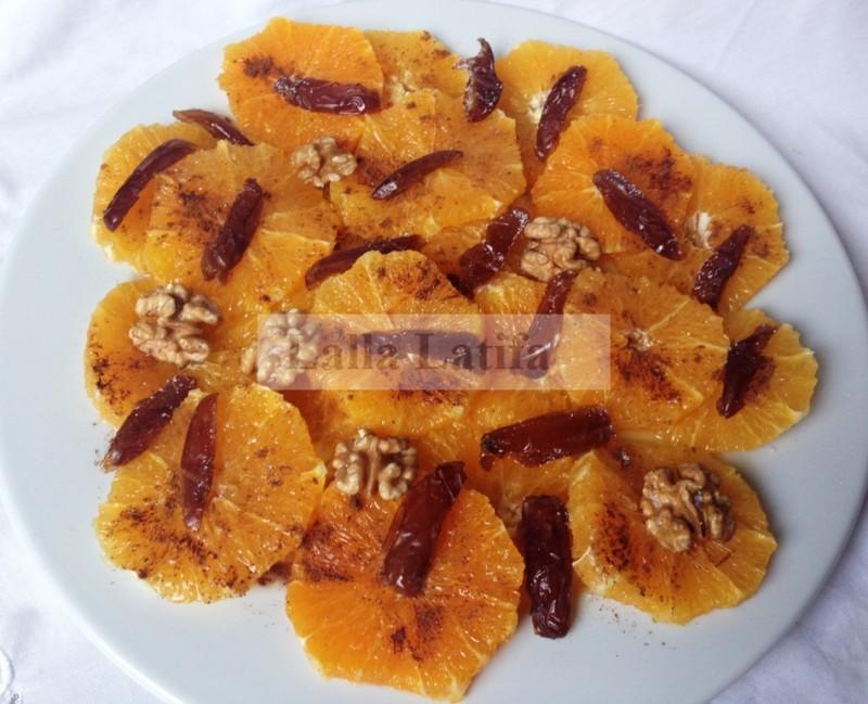 Les secrets de cuisine par lalla latifa salade d orange for Secrets de cuisine