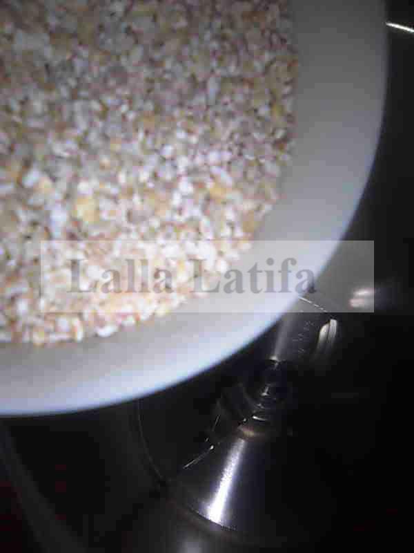 Les secrets de cuisine par lalla latifa la soupe l for Amidon en cuisine