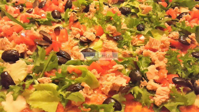 Les Secrets De Cuisine Par Lalla Latifa Recette De Pizza Fraiche